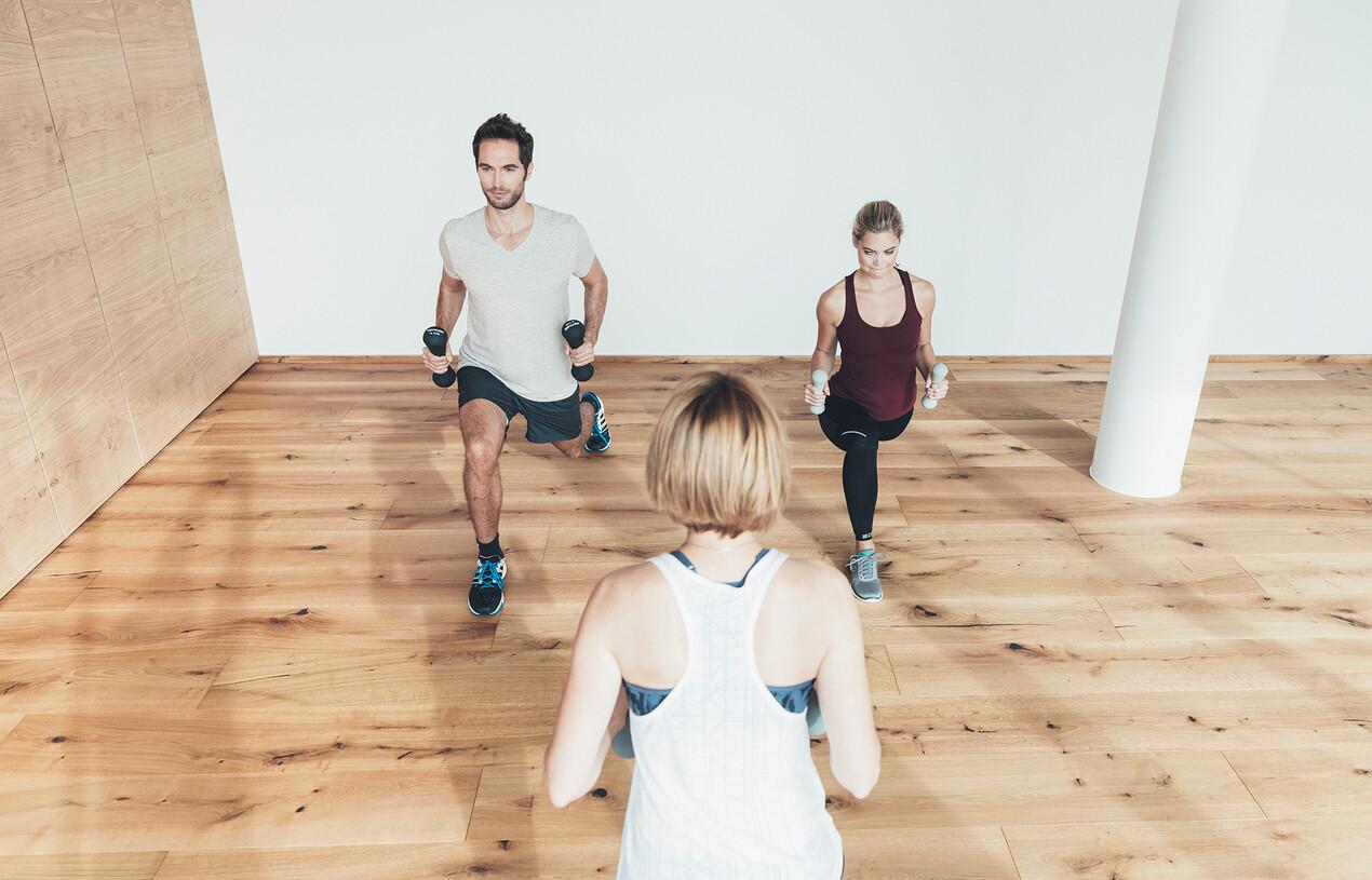 Fitnesstraining im Urlaub
