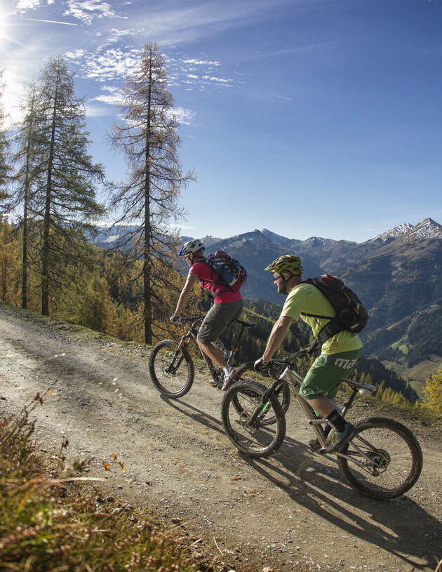 Mountainbiken im Großarl