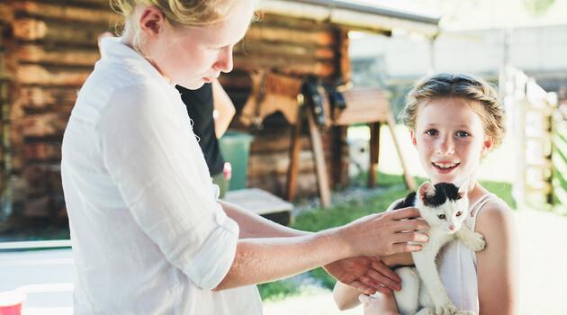 Tiere im Familienurlaub in Großarl