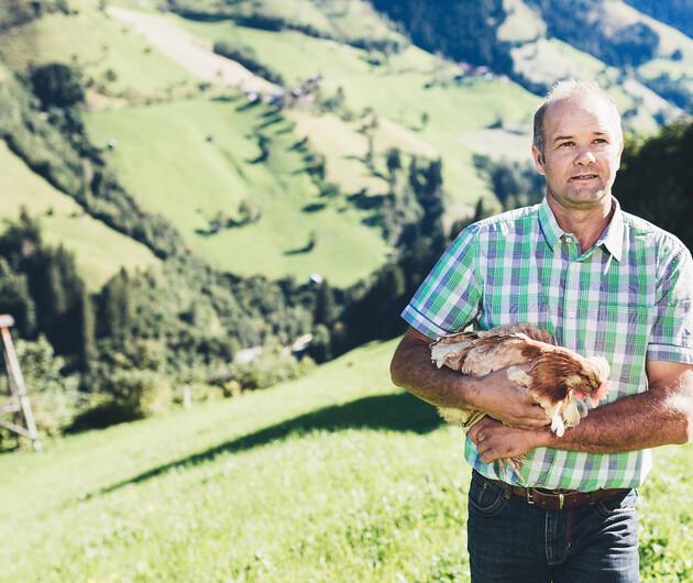 Eier aus der Region: Landwirte Großarl