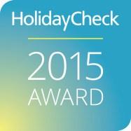 HolidayCheck 2015 Award