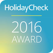 HolidayCheck 2016 Award