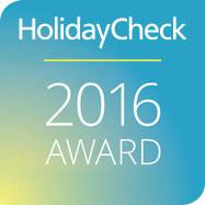 HolidayCheck 2016 Award